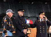 <p>&ldquo;Stavenes&rdquo; fikk utdelt postflagg. Foto: Andrea B&aelig;rland</p>