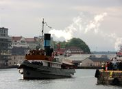 <p>&ldquo;Styrbj&oslash;rn&rdquo;, som ble bygget i G&oslash;teborg i 1910, hadde tatt turen fra Oslo. Foto: Andrea B&aelig;rland</p>