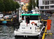 <p>«Anda» eies av Kystverket, men driftes av Kartverket Sjødivisjonen. Foto: Andrea Bærland</p>