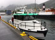 <p>«Anda» ble levert fra Swede-Ships i Gøteborg i 2013. Foto: Andrea Bærland</p>