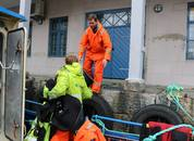 <p>Patrik Eriksson om bord på«Coastal Cat»</p>