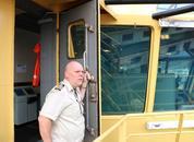 <p>Kaptein Tore Klærhaug. Foto: Vibeke Blich</p>