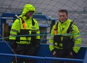 <p>Prosjektleder Steingrim Holm og Driftsleder Håvard Horn. Foto: Ole Andreas Drønen</p>