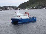 <p>Arbeidsbåten skal operere på lokalitetenTristeinen, i Sør-Trøndelag, og har derfor fått navnet«Tristein».</p>