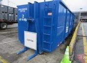 <p>Unidad de almacenamiento de cartón para reciclaje.</p>