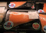 <p>Salm&oacute;n chileno en Rouses Market de Louisiana.</p>