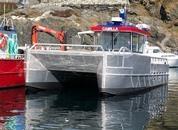 <p>«Camilla» skal brukes til daglige arbeidsoperasjoner på lokaliteten Klungsholmen. Foto: NRS Farming</p>