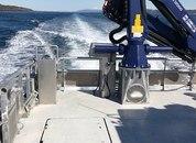 <p>Det er Risnes Marine Craft som har levert båten til NRS. Foto: NRS Farming</p>