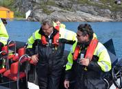 <p>Nesvik ble tatt godt imot av Eide Fjordbruk.</p>
