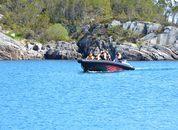 <p>Fiskeriministeren Harald T. Nesvik og hans delegasjon ankommer Sotra etter at de har vært hosSeafoodGroups i Sund kommune.</p>
