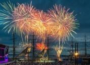 <p>Messen ble avsluttet med konsert og et fabelaktig fyrverkeri i Oslo. Foto: Nor-Shipping</p>