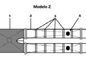 <p>Es una configuración simple del sistema para la eliminación de parásitos que incluye; una tolva de entrada con un ingreso de bomba, dos a una zona de aplicación y dos salida.</p>  <p>Permite minimizar tiempo de tratamiento por jaula.</p>
