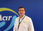 <p>Juan Mora, jefe de producción de Salmones Blumar. Foto: Salmonexpert.</p>