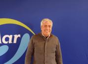 <p>Claudio Astudillo, gerente de reproductores y operaciones de hatchery de Forever Ocean. Foto: Salmonexpert.</p>