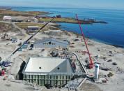 <p>Fra byggingen av anlegget på Kvalnes ca mai 2021. Hentet fra Andfjord Salmons Q1 rapport for 2021.</p>
