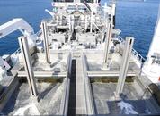 <p>Brønnbåten Kristoffer Tronds har eit stort fokus på behandling av fisk, fiskehelse, hygiene og kvalitet. Her ser man noko av behandlingsutstyret om bord. Foto: Marthe Eide/Grenda</p>