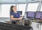 <p>Brønnbåten Kristoffer Tronds vart overlevert fra verftet Astilleros De Murueta i Spania. Foto: Marthe Eide/Grenda</p>