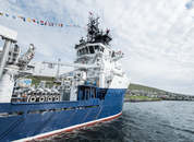 <p>The FLS delousing system on MS Bakkanes has four lines, each capable of treating 50 tonnes of salmon per hour. Photo: Bakkafrost.</p>