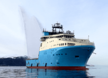 «Maersk Minder» overlevert fra Kleven