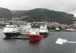 Oslo har fått landstrøm – Bergen somler