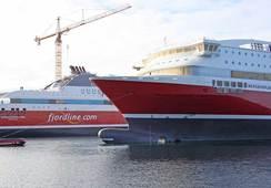 """""""Bergensfjord"""" sjøsatt i Gdansk"""
