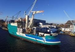 Nytt spesialskip for vindparker fra Ulstein til Acta Marine