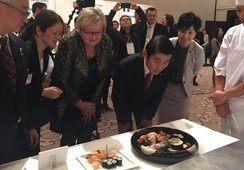 Norsk laks feirer 30 år i Japan