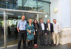 Investigadores del IFOP visitaron centro de referencia mundial en acuicultura