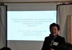Realizan taller de vulnerabilidad al cambio climático de la salmonicultura