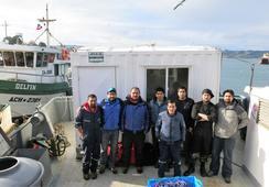 IFOP realiza crucero en el mar interior de Chiloé
