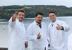 Chefs de Chile y EE.UU. encabezaron visita a Marine Harvest Chile