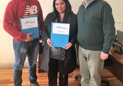 Salmonicultores de Magallanes entregan becas de estudio 2017