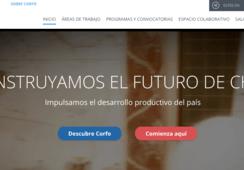 Corfo: plataforma mejorada para emprendedores