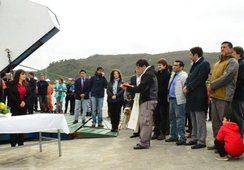 Inauguran oficialmente barcaza Queulat en Melinka