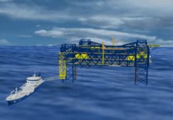 Offshore salmon farm planned for North Sea