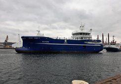 Ferdigstiller bløggebåten «Aqua Merdø»