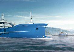 Slaktebåten «Aqua Merdø» overlevert til DESS Aquaculture Shipping