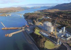 Marine Harvests nye fôrfabrikk millioner over budsjettet
