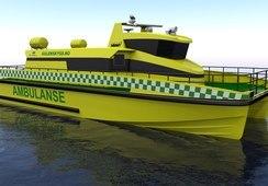 Maritime Partner skal bygge sin første ambulansebåt