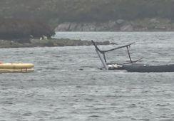 Escocia: muere piloto de helicóptero de centro salmonicultor