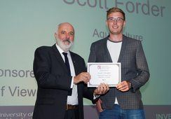 Fish farm manager nets college learner award