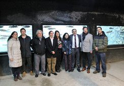 Salmonchile participa en segundo aniversario del Acuario Lago Puyehue