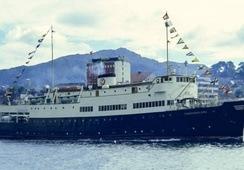 Fra krigsskip til passasjerskip