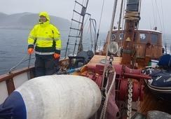 Thorseth-ekspedisjonen krasjet i isfjell