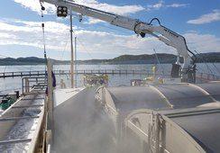 Bli med om bord avlusingslekteren Hydro Flow