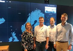Aquaculture supplier salutes its digital Commander
