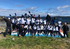 Camanchaca  coordina limpieza de playas a lo largo de Chile