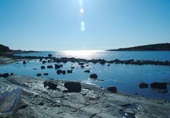 Karibisk skip på grunn i Østfold