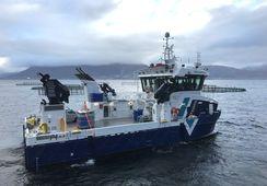 Overleverte Norges mest avanserte servicekatamaran