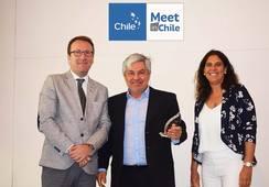Arturo Clément es elegido embajador de programa Meet in Chile